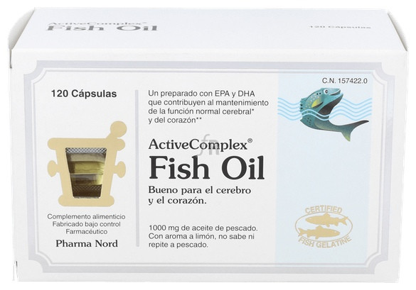 ActiveComplex Fish Oil 120 Cápsulas Pharma Nord