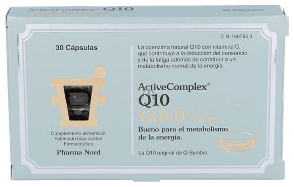 ActiveComplex Q10 Gold 100M 30 Cápsulas Pharma Nord