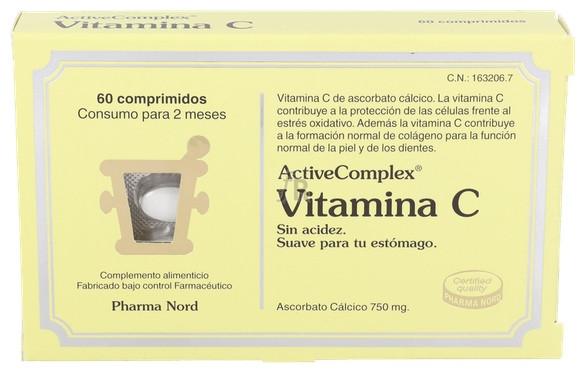 ActiveComplex Vitamina C 60 Comprimidos Pharma Nord