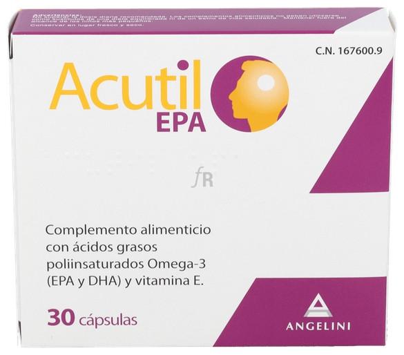 Acutil Epa 30 Caps - Angelini