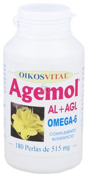 Agemol Oikos Omega-6 180Perlas - Oikos