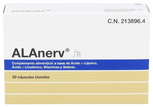 Alanerv 920 Mg 20 Caps