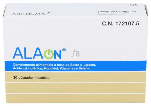 Alaon 30 Cápsulasulas Blandas - Alaon