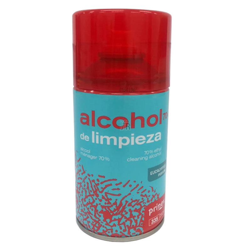 Alcohol Higienizante Prinex Spray 250 ML.
