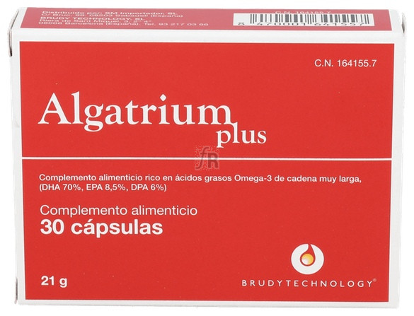 Algatrium Plus 30 Cap.  - Algatrium