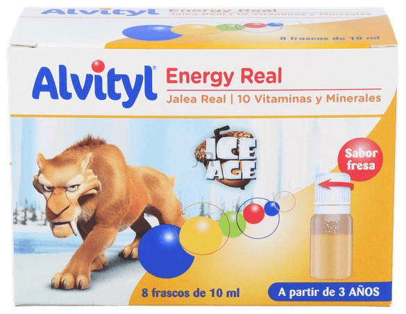 Alvityl Energy Real Fresa 8 Frasos 10 Ml - Urgo
