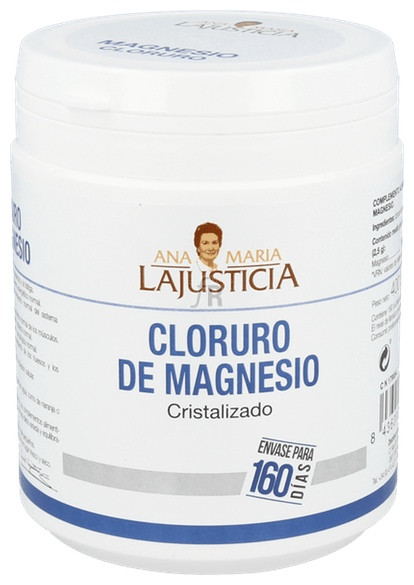 Cloruro Magnesio Polvo 400 Gr La Justicia - Ana María Lajusticia