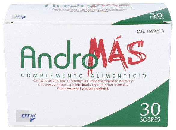 Andromas 30 Sobres - Varios