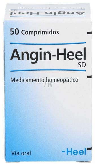 Angin Heel SD 50 comprimidos   Farmacia Ribera Online