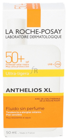 Anthelios Xl 50+ Fluido 50 Ml La Roche Posay