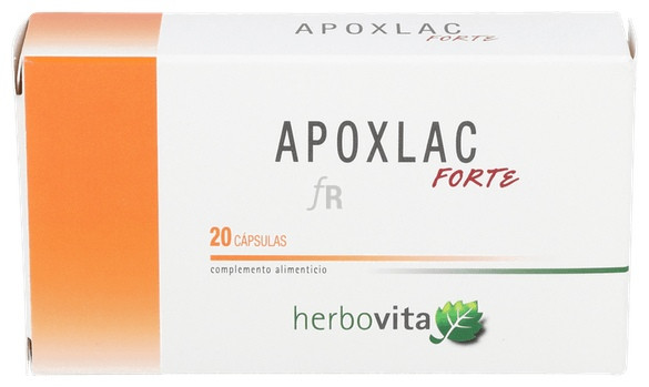 Apoxlac Forte 20 Capsulas Herbovita - Varios