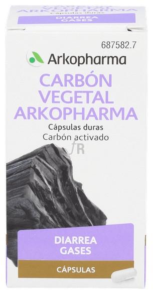 Arkocapsulas Carbon Vegetal (225 Mg 50 Capsulas) - Arkopharma