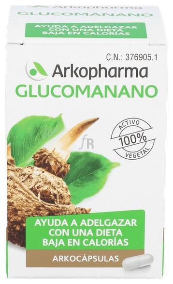 Arkocápsulas Glucomanano 80 Cápsulas