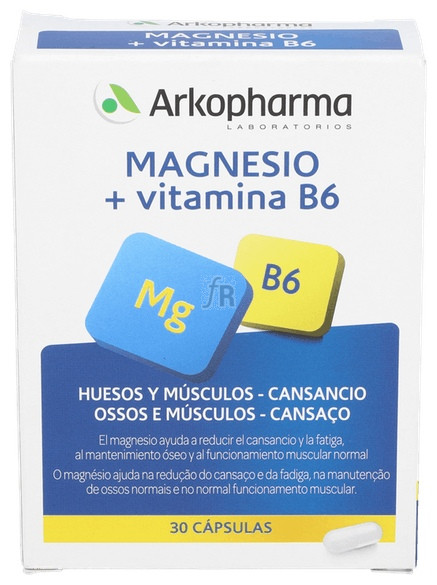 Arkocápsulas Magnesio 30 Cápsulas