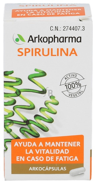 Arkocapsulas Spirulina 50 Cápsulas