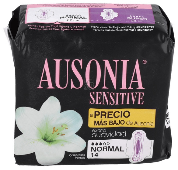 Ausonia Normal Ultra 20 Unidades Sensitiv - Ausonia