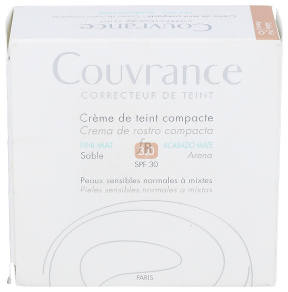Avene Couvrance Compacto Oil-Free Aren 3 - Pierre-Fabre
