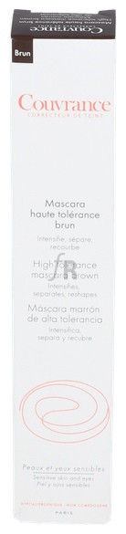 Avene Couvrance Mascara Marrón De Pestañas De Alta Tolerancia