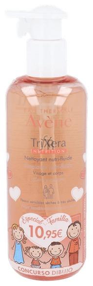 Avene Trixera Nutrition Limpiador Nutri Fluido 4