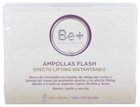 Be+ Ampollas Flash Efecto Lifting 5 Amp X 2 Ml - Cinfa