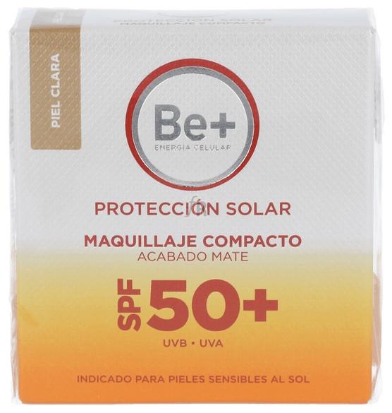 Be+ Maquillaje Proteccion Solar 50+ Compacto Pie