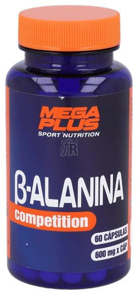 Beta Alanina 600Mg 60 Capsulas Megaplus