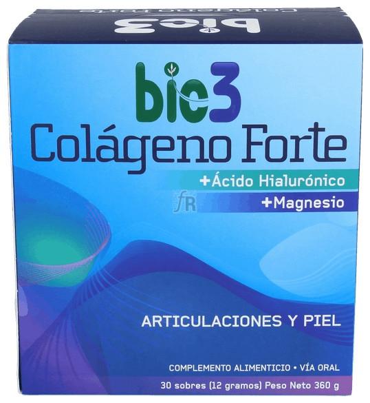 Bie3 Colageno Forte Sobres Solubles 30 Sobres - Biodes