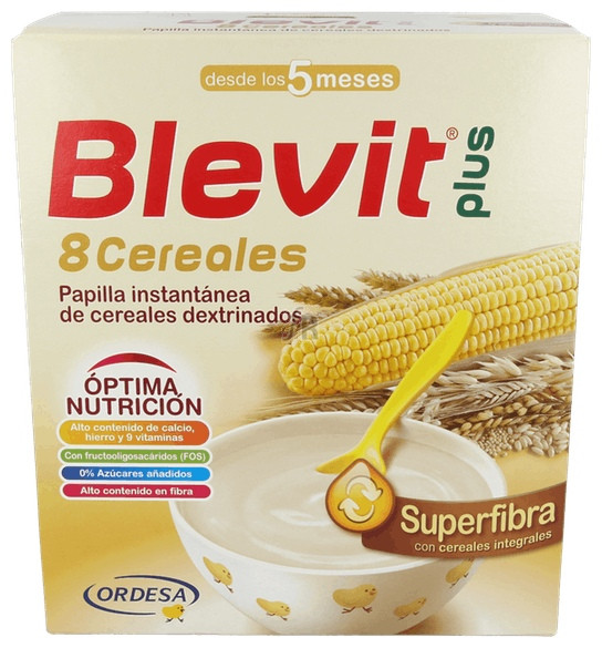Blevit Plus 8 Cereales Superfibra 700Gr. - Varios