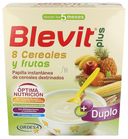 Blevit Plus 8 Cereales Y Frutas 600G