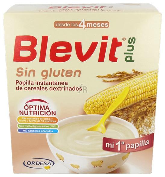 Blevit Plus Sin Gluten Mi Primera Papilla 700 Gr - Varios