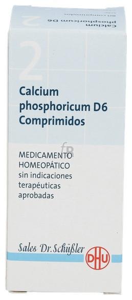 Calcium Phosp.Nº2 D6 80 Comprimidos Dhu