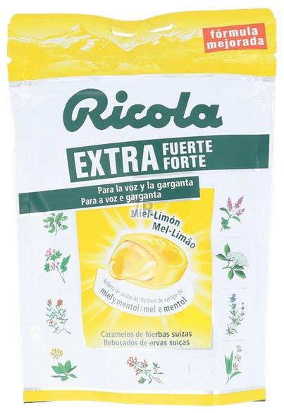 Caramelo Ricola Miel Limón Extra Fuerte 65 Gr.