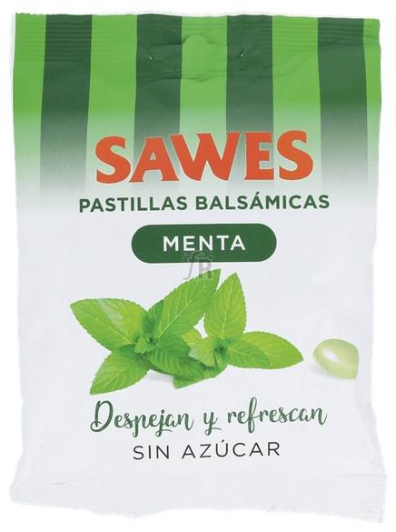 Caramelos Sawes Bolsa Menta Sin Azucar 50G - Varios