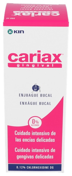 Cariax Gingival Enjuague Bucal 250 ml.