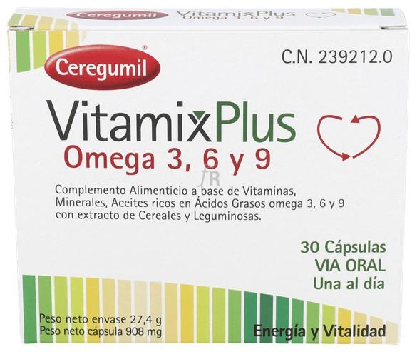 Ceregumil Vitamix Plus 30 Cápsulas - Farmacia Ribera