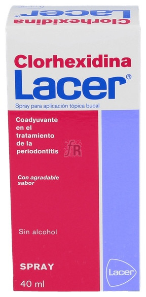Clorhexidina Spray 40 Ml. - Lacer