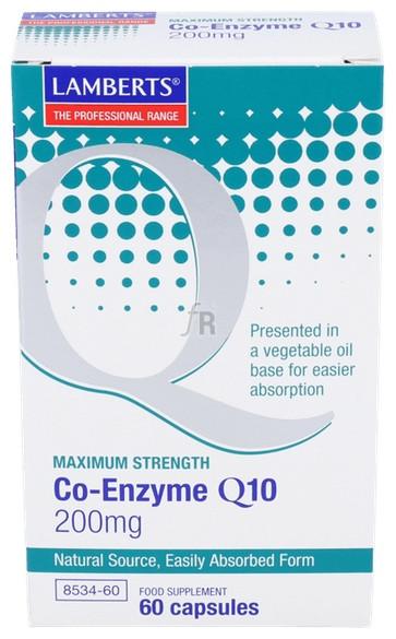 Coenzyma Q10 200Mg 60Capsulas Lamberts