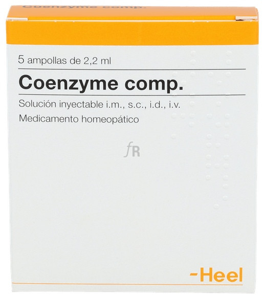 Coenzyme compositum 5 ampollas 2,2 ml