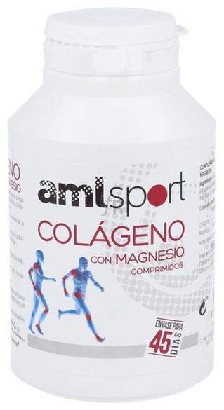 Colágeno + Magnesio Amlsport 270 Comprimidos