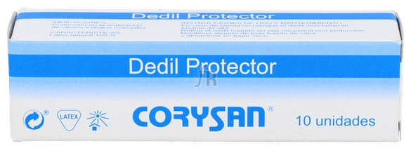 Corysan Dedil Latex Diametro 23 Cm T-7 10 U - Varios
