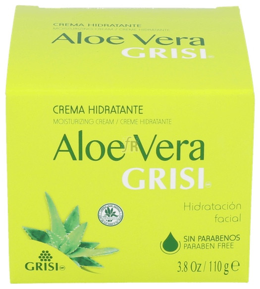 Crema Hidratante Aloe Vera 110 Ml. Aloe Grisi - Grisi