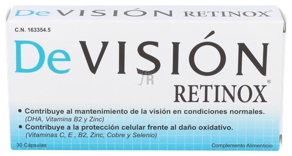 Devision Retinox 30 Capsulas - Varios