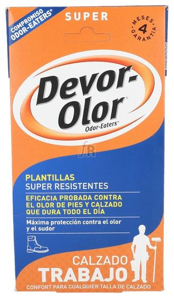 Devor-Olor Plantilla Desodorante Super