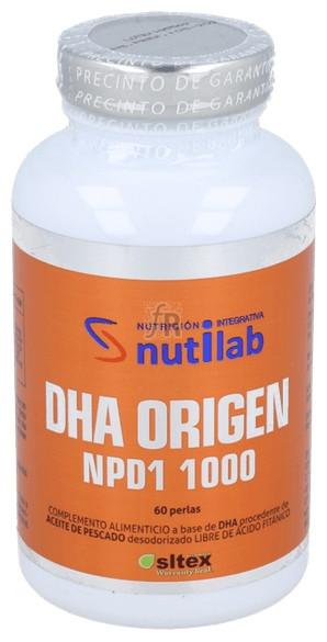 Dha Origen Npd1 60 Cápsulas Nutilab - Varios