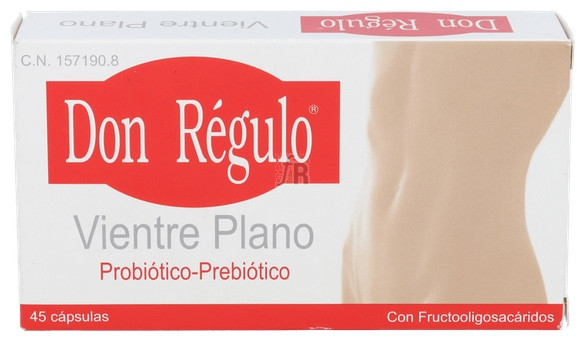 Don Regulo Vientre Plano 45 Cápsulas - Don Regulo