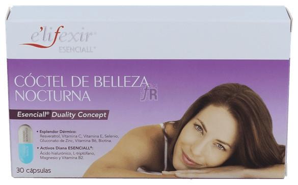 Elifexil Esencial Coctel Belleza Nocturna 30 Cápsulas - Farmacia Ribera