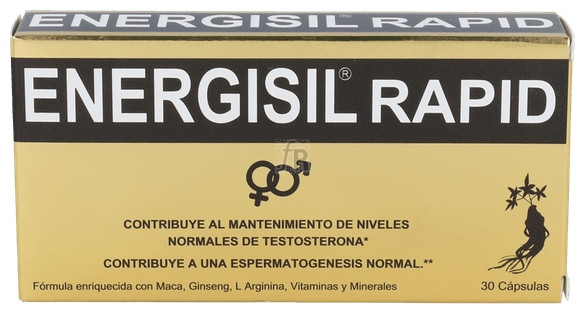 Energisil Rapid 30 Cápsulas - Farmacia Ribera