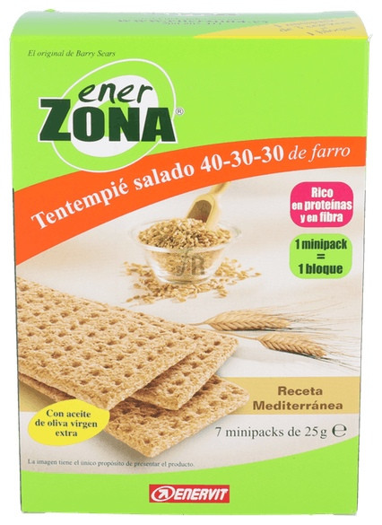 Enerzona Snack Mediterráneo 7 Und.