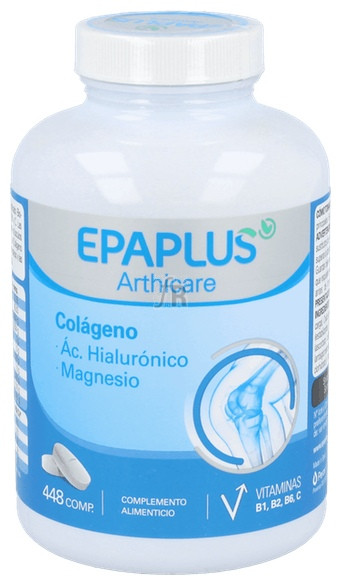 Epaplus Colageno+Hialur+Mg 448 Comp