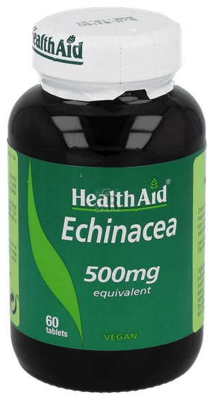 Equinácea (Echinacea purpurea) 500 mg 60 Comprimidos - Health Aid